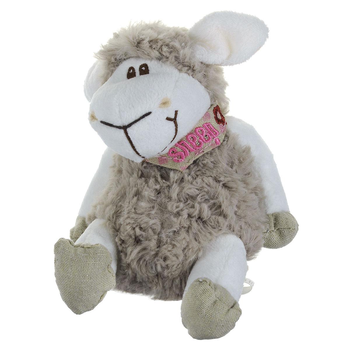 Мягкая игрушка JSL Овца, 14,5 смTB11-196/5,5Очаровательная мягкая игрушка JSL Овца, выполненная в виде жизнерадостной овечки с красочной банданой на шее, вызовет умиление и улыбку у каждого, кто ее увидит. Удивительно мягкая игрушка принесет радость и подарит своему обладателю мгновения нежных объятий и приятных воспоминаний. Великолепное качество исполнения делают эту игрушку чудесным подарком к любому празднику.