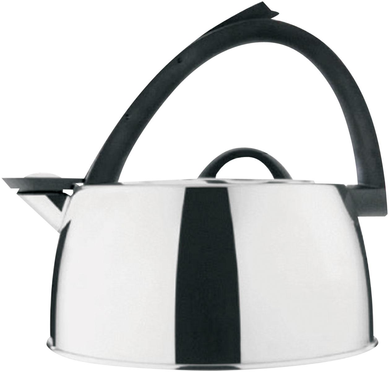 Чайник Bekker De Luxe со свистком, 3 л. BK-S419BK-S419Чайник Bekker De Luxe изготовлен из высококачественной нержавеющей стали 18/10 с зеркальной полировкой. Капсулированное дно распределяет тепло по всей поверхности, что позволяет чайнику быстро закипать. Эргономичная фиксированная рукоятка выполнена из бакелита черного цвета. Носик оснащен откидным свистком, который подскажет, когда вода закипела. Свисток открывается и закрывается рычагом на рукоятке. Оригинальный дизайн эффектно оформит интерьер кухни. Подходит для всех типов плит, кроме индукционных. Можно мыть в посудомоечной машине.