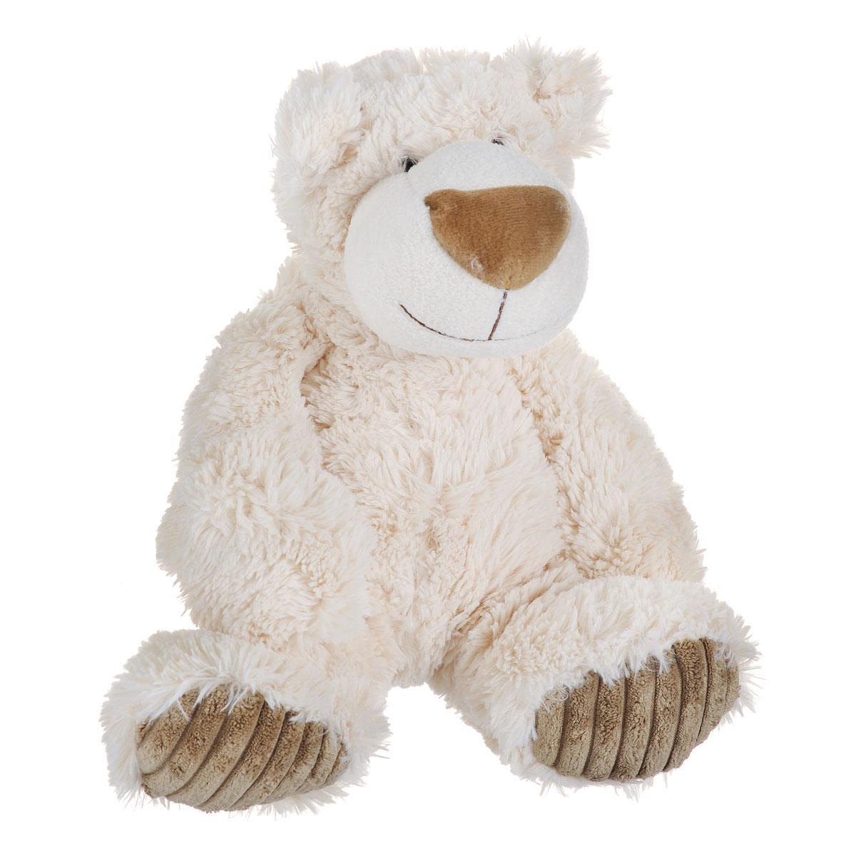 Мягкая игрушка Aurora Медведь Латте, 31 см120-05Очаровательная мягкая игрушка Медведь Латте, выполненная в виде медвежонка кремового цвета, вызовет умиление и улыбку у каждого, кто ее увидит. Игрушка изготовлена из высококачественного плюшa с добавлением специальных гранул, которые способствуют развитию мелкой моторики рук малыша. Наполнитель выполнен из гипoaллepгeнного синтепона. Авторский дизайн; ручная работа. Удивительно мягкая игрушка принесет радость и подарит своему обладателю мгновения нежных объятий и приятных воспоминаний. Великолепное качество исполнения делают эту игрушку чудесным подарком как к Новому году, так и к любому празднику.