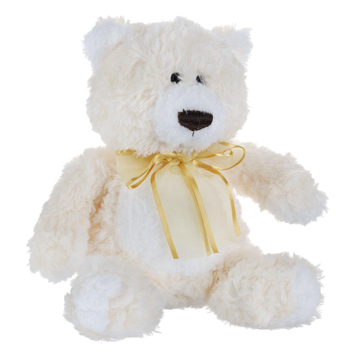 Aurora Мягкая игрушка Медведь с бантом цвет кремовый 25 см30-501Очаровательная мягкая игрушка Aurora Медведь, выполненная в виде медвежонка с бантом на шее, вызовет улыбку у каждого, кто ее увидит. Игрушка изготовлена из высококачественного плюшa с добавлением специальных гранул, которые способствуют развитию мелкой моторики рук малыша. Наполнитель выполнен из гипoaллepгeнного синтепона. Авторский дизайн; ручная работа. Удивительно мягкая игрушка принесет радость и подарит своему обладателю мгновения нежных объятий и приятных воспоминаний. Великолепное качество исполнения делают эту игрушку чудесным подарком к любому празднику.
