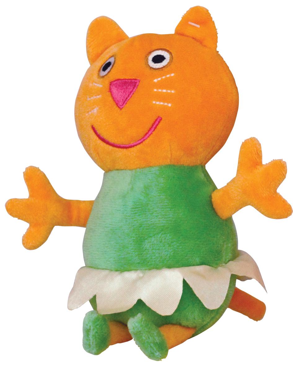 Мягкая игрушка Peppa Котенок Кэнди балерина, 22 см25084Очаровательная мягкая игрушка Котенок Кэнди балерина, выполненная в виде героя мультфильма Свинка Пеппа - котенка Кэнди в юбочке, вызовет умиление и улыбку у каждого, кто ее увидит. Кэнди — очень скромная, стеснительная и нереально добродушная подружка Пеппы. Частенько бывает так, что из неё невозможно вытянуть и слова из-за её стеснительности. Игрушка выполнена из высококачественного и приятного на ощупь материала. Великолепное качество исполнения делают эту игрушку чудесным подарком к любому празднику, а оригинальный жизнерадостный образ представит такой подарок в самом лучшем свете.
