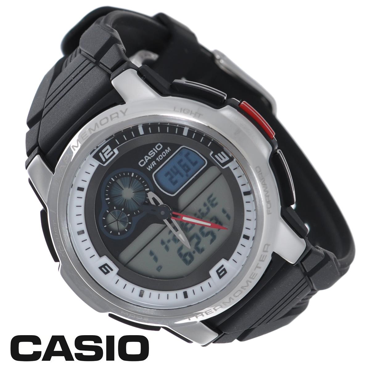 Часы мужские наручные Casio, цвет: серебристый, черный. AQF-102W-7BAQF-102W-7BСтильные аналогово-цифровые часы от японского брэнда Casio - это яркий функциональный аксессуар для современных людей, которые стремятся выделиться из толпы и подчеркнуть свою индивидуальность. Часы оснащены японским кварцевым механизмом. Корпус часов изготовлен из нержавеющей стали и пластика. Циферблат с двумя стрелками защищен пластиковым выпуклым стеклом. Ремешок из пластика имеет классическую застежку. Основные функции: - будильник; - автоматический календарь (число, месяц, день недели, год); - термометр; - секундомер, время измерения 100 часов; - 12-ти и 24-х часовой формат времени; - таймер; - мировое время. Питание часов осуществляется от сменной батареи. Часы упакованы в фирменную коробку с логотипом Casio. Такой аксессуар добавит вашему образу стиля и подчеркнет безупречный вкус своего владельца. Характеристики: ...
