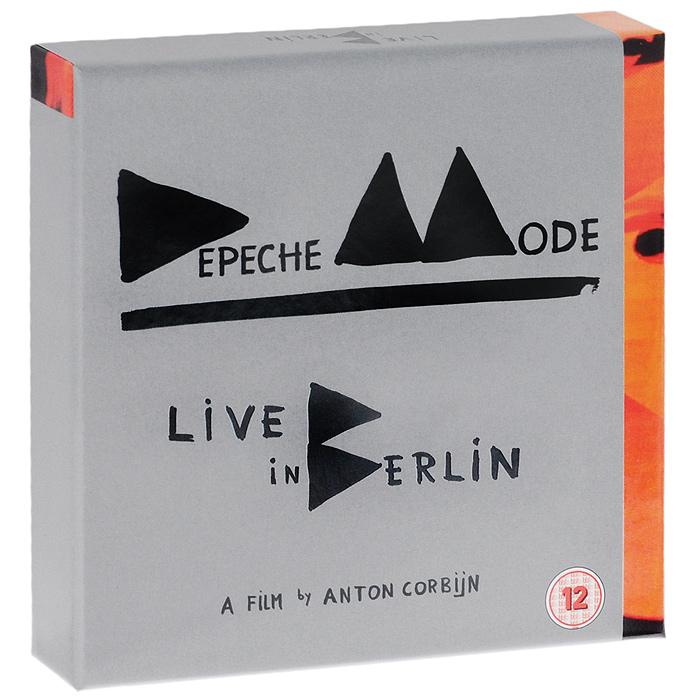 Depeche Mode. Live in Berlin. Deluxe Edition (2 CD + 2 DVD + Blu-ray)