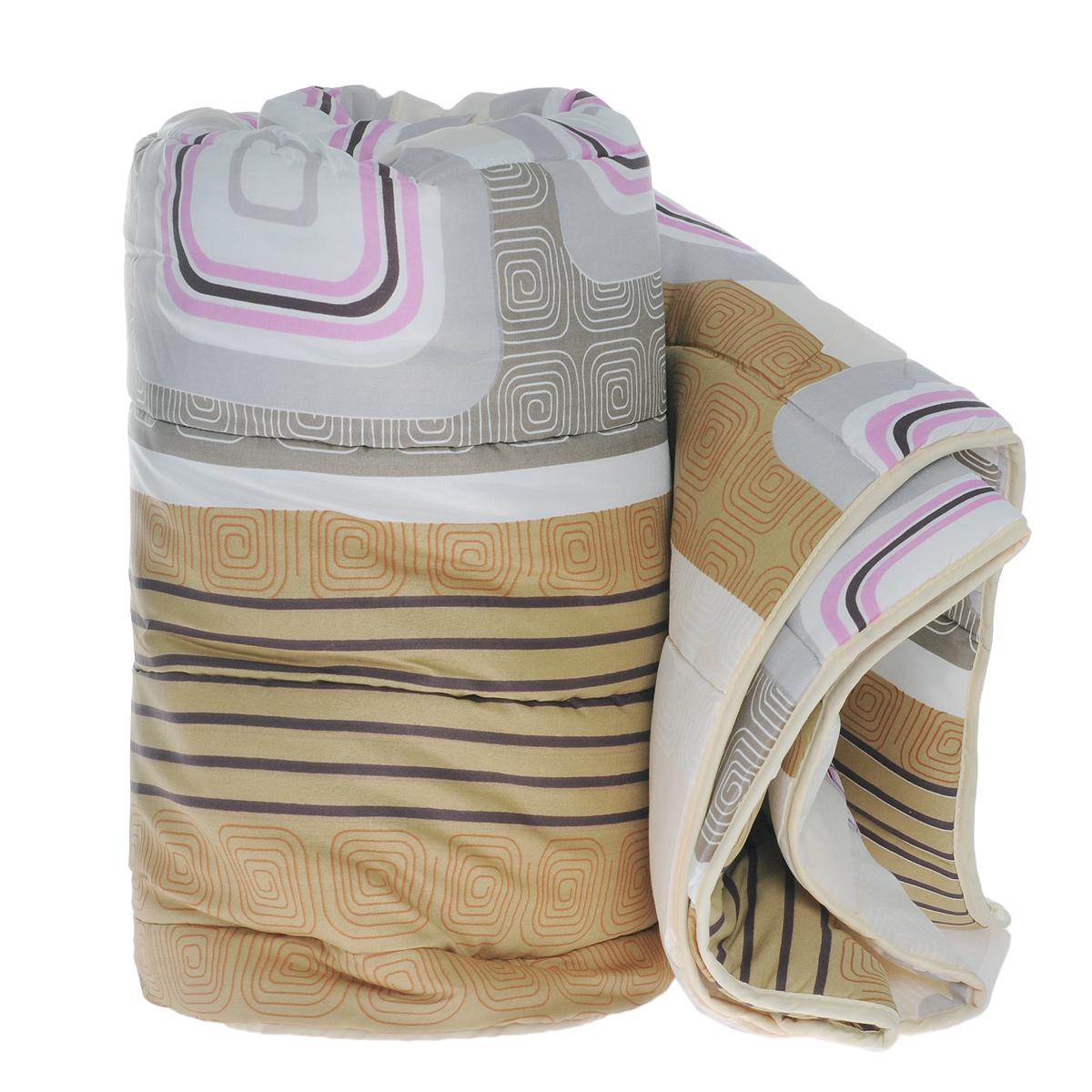 Одеяло всесезонное OL-Tex Miotex, наполнитель: полиэфирное волокно Holfiteks, 172 х 205 см, в ассортиментеМХПЭ-18-3Всесезонное одеяло OL-Tex Miotex создаст комфорт и уют во время сна. Стеганый чехол выполнен из полиэстера и оформлен красивым рисунком. Внутри - наполнитель из полиэфирного высокосиликонизированного волокна Holfiteks, упругий и качественный. Холфитекс - современный экологически чистый синтетический материал, изготовленный по новейшим технологиям. Его уникальность заключается в расположении волокон, которые позволяют моментально восстанавливать форму и сохранять ее долгое время. Изделия с использованием Холфитекса очень удобны в эксплуатации - их можно часто стирать без потери потребительских свойств, они быстро высыхают, не впитывают запахов и совершенно гиппоаллергенны. Холфитекс также обеспечивает хорошую терморегуляцию, поэтому изделия с наполнителем из холфитекса очень комфортны в использовании. Одеяло с наполнителем Холфитекс порадует вас в любое время года. Оно комфортно согревает и создает отличный микроклимат. Рекомендации...