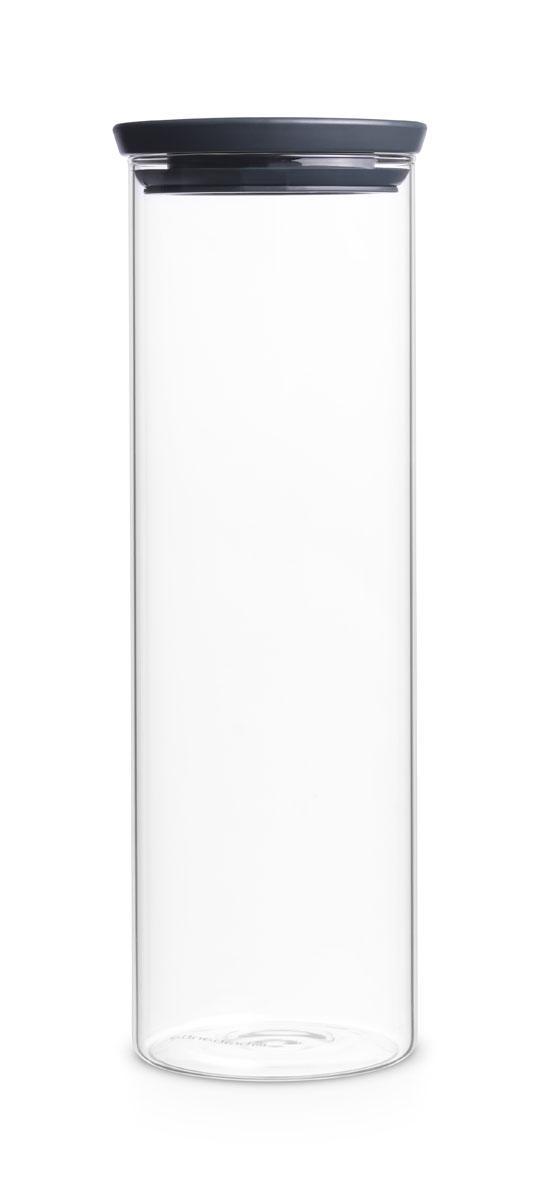 Банка для спагетти Brabantia, 1,9 л298240Банка для спагетти Brabantia изготовлена из высокопрочного прозрачного стекла, что позволяет видеть содержимое и его количество. Банка оснащена герметичной пластиковой крышкой, которая не пропускает запахи и дольше сохраняет продукты свежими. Специальная форма банки идеально подходит для хранения спагетти. Контейнеры Brabantia для сыпучих продуктов позволяют дольше сохранить ваши продукты свежими. Стеклянную банку можно мыть в посудомоечной машине.