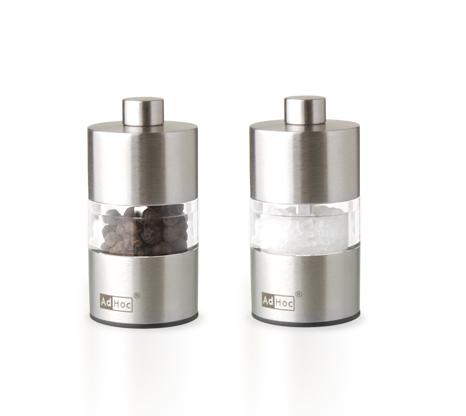 Набор мельниц для соли и перца AdHoc, серия MINIMILL, 6,2 см
