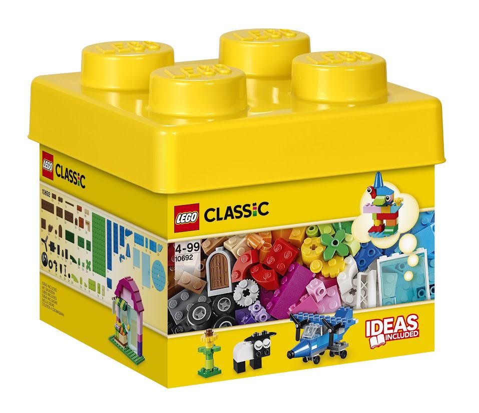 LEGO Classic Конструктор Классик 1069210692Карандаш, овечка, дельтаплан! Окунитесь с головой в этот набор кубиков LEGO и дайте волю своему воображению! Бесконечные возможности для сборки из классических кубиков 29 разных цветов и специальных деталей, включая двери, окна, колеса, глаза, пропеллеры и отделитель кубиков. Если вы не знаете, с чего начать, вам помогут инструкции с идеями дизайнеров, от которых можно оттолкнуться. Это идеальный набор для начинающих строителей всех возрастов. Набор позволяет создавать различные здания, автомобили и самолеты, а также животных и фантазийных персонажей. Все элементы можно быстро собрать для аккуратного хранения и удобной перевозки в контейнер с крышкой. Кроме того, в набор входит дизайнерская инструкция по сборке базовых моделей. Этот красочный игровой набор содержит 221 пластиковый элемент для сборки и инструкцию по сборке. Конструктор - это один из самых увлекательнейших и веселых способов времяпрепровождения. Ребенок сможет часами играть с...