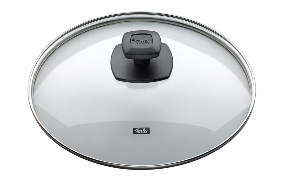 Крышка стеклянная Fissler, 20см175000202Прозрачная крышка позволяет наблюдать за процессом приготовления. Очень практично и удобно! Крышка изготовлена из жаропрочного стекла и выдерживает температуру до 220С. Обод крышки изготовлен из высококачественной стали 18/10. Подходит для всех сковород Fissler соответствующего диаметра.