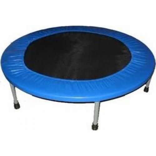 Батут Sport Elit, цвет: черный, синий, диаметр 125 смR-1266 (50)Батут Sport Elit предназначен для тренировок детей и взрослых. Его можно использовать как на улице, так и в помещении. На батуте можно прыгать, кувыркаться, играть, проводить спортивные состязания, экстремальные шоу и многое другое. Основная задача батута - физическое развитие, нагрузки, укрепление различных групп мышц, гармоничное развитие всего организма. Для занятий на батуте можно использовать дополнительный инвентарь: гантели, скакалку. Все это поможет разнообразить комплекс упражнений и достичь оптимального результата. А поскольку придется прилагать значительные усилия, чтобы скоординировать движения и сохранить равновесие, будьте уверены, что ни одна мышца тела не останется неохваченной. Занятия на батуте способствуют укреплению не только всех без исключения групп мышц, но и помогают развивать гибкость, а также сжигают немало лишних калорий!