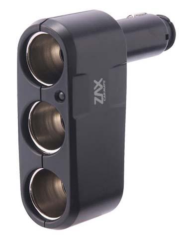 Разветвитель прикуривателя Carmate 3 Way Socket, 3 гнезда, цвет: черныйCZ259Удобный разветвитель прикуривателя Carmate 3 Way Socket позволяет подключить сразу 3 электроприбора. Выполнен из прочного пластика.
