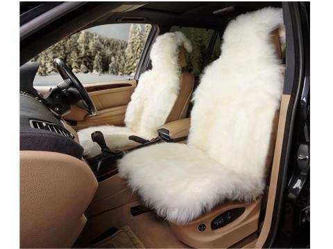 Накидка на переднее сиденье iSky Sheepskin, цвет: белый, 140 х 50 смiSS-06WSНакидка из натуральной овчины iSky Sheepskin - идеальный вариант, который подойдет для самых взыскательных автолюбителей. Благодаря универсальному размеру, накидка подойдет для любого кресла - она не будет съезжать и скользить, так как надежно фиксируется на сиденье. Овчина износоустойчива, не линяет, что устраняет проблему прилипших к одежде волосков, а также легко очищается от грязи. Кроме того, овчина содержит ланолин, хорошо поглощает влагу, не дает развиваться бактериям и вирусам, нейтрализует вредные вещества, которые выделяет кожа и стимулирует кровообращение. Накидки из овчины не нагреваются и даже при длительной поездке не будут прилипать к спине. Кроме того, это просто красивый элемент интерьера, который сохранит тепло даже в самый лютый мороз. В комплекте имеется расческа.