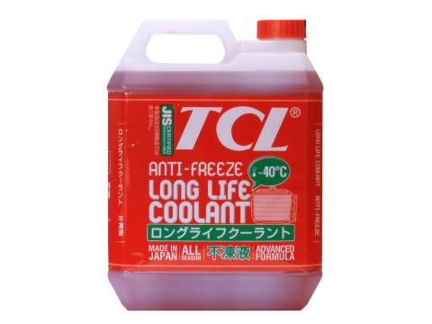 Антифриз TCL LLC для Toyota и Daihatsu, готовый, цвет: красный, 4 лLLC01236Высококачественная охлаждающая жидкость TCL LLC, препятствующая перегреву двигателей даже в сильную жару и замораживанию системы охлаждения в сильный мороз. Защищает от коррозии металлические части системы охлаждения и удаляет с них ранее образовавшиеся окислы. Является отличной смазкой для помп. Сохраняет свои качества в системах охлаждения в течение 2 лет. Не замерзает до температуры -40°С. Антифриз красного цвета предназначен для автомобилей TOYOTA и DAIHATSU. Состав: этиленгликоль, комплекс присадок.