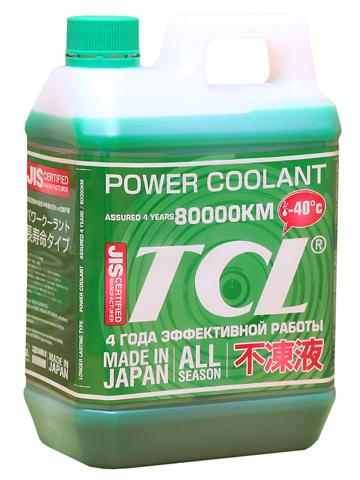Антифриз TCL Power Coolant, готовый, цвет: зеленый, 2 лPC2-40GВысококачественная охлаждающая жидкость TCL Power Coolant с увеличенным сроком службы, препятствующая перегреву двигателей даже в сильную жару и замораживанию системы охлаждения в сильный мороз. Защищает от коррозии металлические части системы охлаждения и удаляет с них ранее образовавшиеся окислы. Является отличной смазкой для помп. Сохраняет свои качества в системах охлаждения в течение 4 лет. Не замерзает до температуры -40°С. Антифриз зеленого цвета предназначен для всех автомобилей, кроме TOYOTA и DAIHATSU. Концентрированный антифриз обязательно нужно использовать в разбавленном виде 25~60 %. Состав: этиленгликоль, метанол, комплекс присадок.