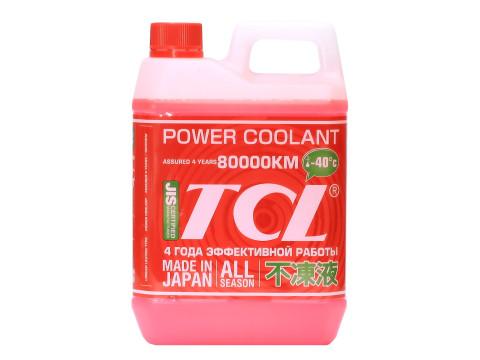 Антифриз TCL Power Coolant для Toyota и Daihatsu, готовый, цвет: красный, 2 лPC2-40RВысококачественная охлаждающая жидкость TCL Power Coolant с увеличенным сроком службы, препятствующая перегреву двигателей даже в сильную жару и замораживанию системы охлаждения в сильный мороз. Защищает от коррозии металлические части системы охлаждения и удаляет с них ранее образовавшиеся окислы. Является отличной смазкой для помп. Сохраняет свои качества в системах охлаждения в течение 4 лет. Не замерзает до температуры -40°С. Антифриз красного цвета предназначен для TOYOTA и DAIHATSU. Концентрированный антифриз обязательно нужно использовать в разбавленном виде 25~60 %. Состав: этиленгликоль, метанол, комплекс присадок.