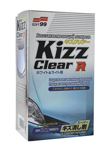 Полироль для кузова восстанавливающий Soft99 Kizz Clear R W&L для светлых а/м, 270 мл