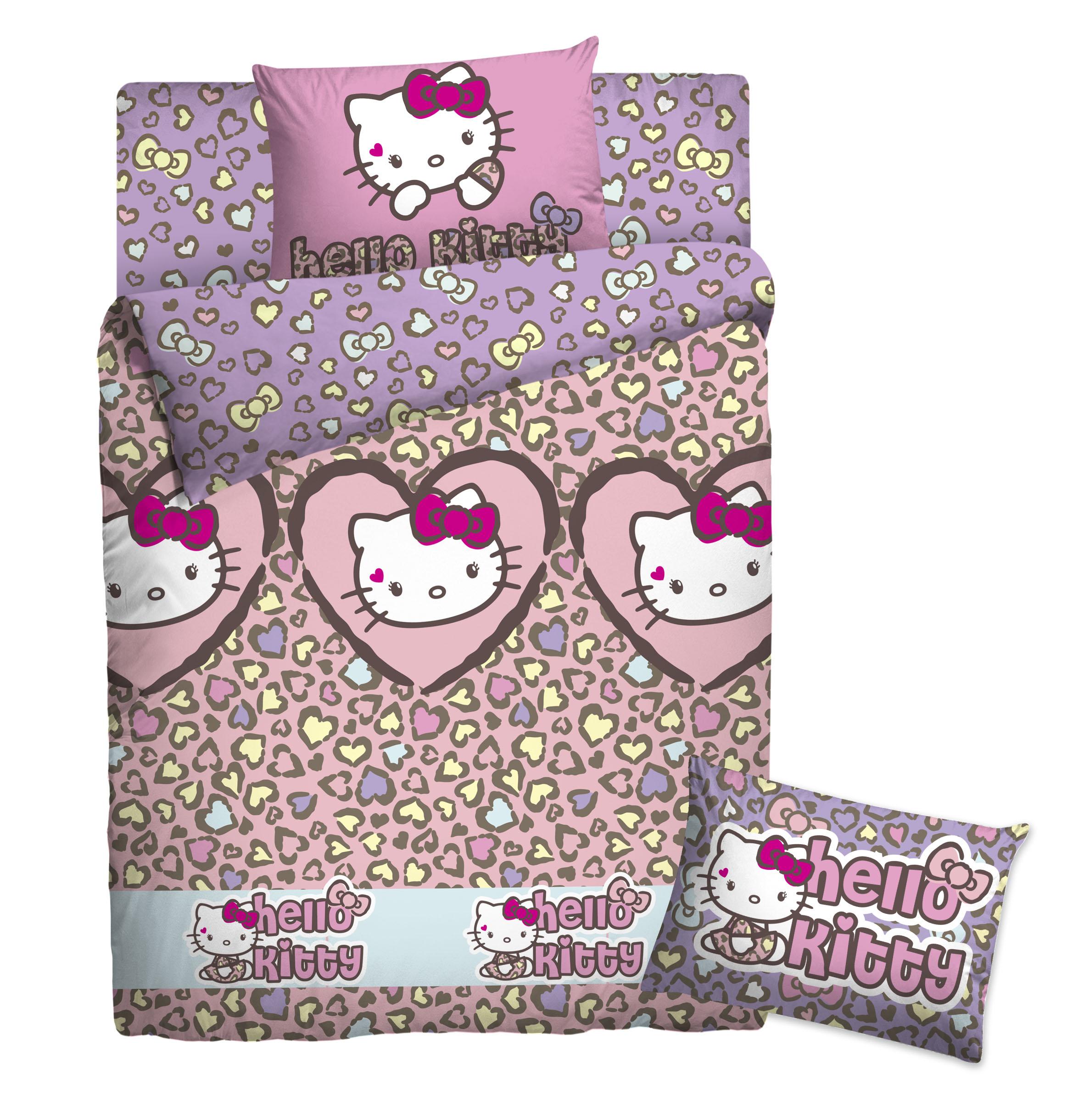 КПБ Hello Kitty 1,5 сп180226Детский комплект постельного белья Hello Kitty Магнолия состоит из наволочки, пододеяльника и простыни. Такой комплект идеально подойдет для кровати вашего ребенка и обеспечит ему здоровый сон. Он изготовлен из ранфорса (100% хлопок), дарящего малышу непревзойденную мягкость. Натуральный материал не раздражает даже самую нежную и чувствительную кожу ребенка, обеспечивая ему наибольший комфорт. Приятный рисунок комплекта подарит вашему ребенку встречу с любимыми героями полюбившегося мультфильма и порадует яркостью и красочностью дизайна. Комплект постельного белья Hello Kitty Магнолия осуществит заветную мечту ребенка окунуться в волшебный мир сказок, а любимые персонажи создадут атмосферу уюта.