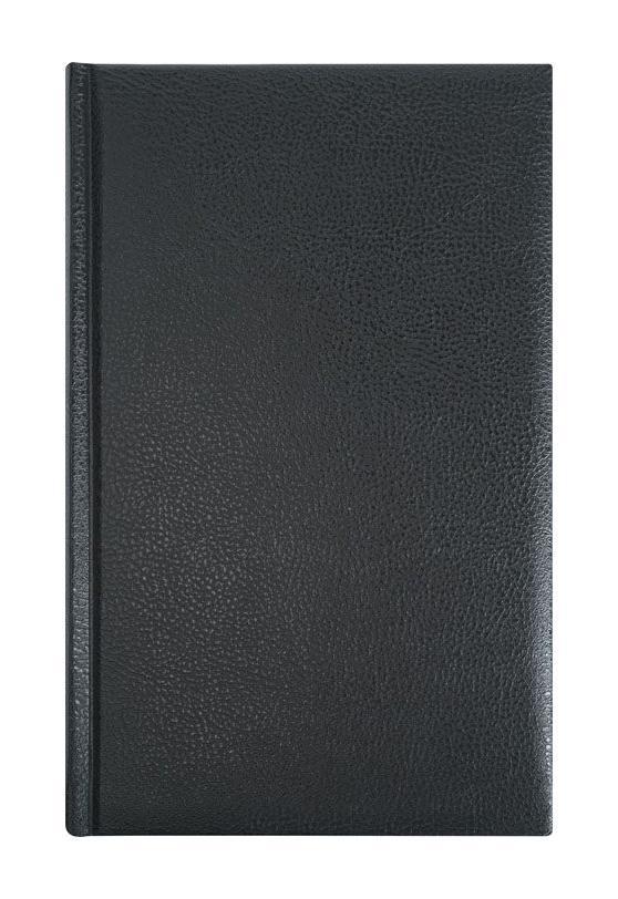 Erich Krause Ежедневник 130х210, DERBY (на форзацах карты), цвет: черный29758