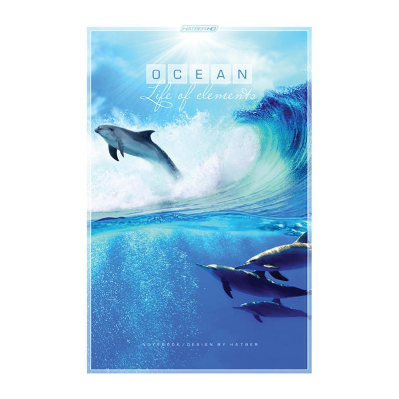 HD Бизнес-блокнот 96л А5ф 80 гр/кв.м клетка тв.переплет -Ocean-96ББ5A1_10238Премиум Бизнес-блокнот в твердом переплёте. Листаж - 96 листов А5 формата. Клетка Тип разметки: В клетку; тип бумаги: Шелковисто-матовая; формат: А5; обложка: Книжная; пол: унисекс; упаковка: Коробка картонная