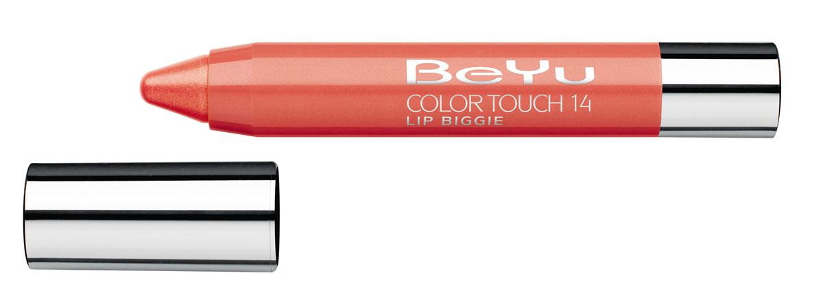 BeYu Блеск-бальзам для губ Color Touch Lip Biggie, тон №14, 2.8 г331.14Блеск-бальзам для губ Color Touch Lip Biggie сочетает в себе помаду, блеск и бальзам для губ, который бережно ухаживает за кожей губ, придавая им нежное сияние. Блеск-бальзам для губ имеет выкручивающийся механизм.