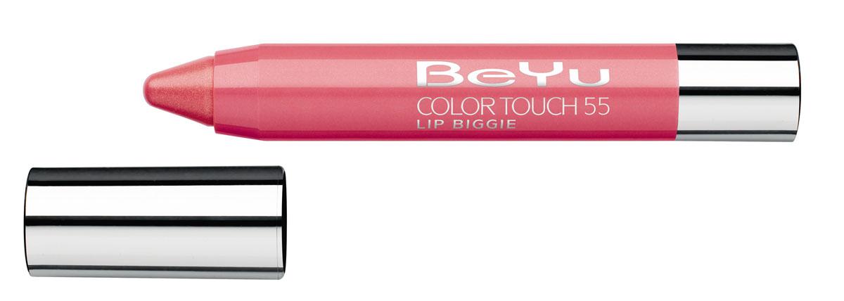BeYu Блеск-бальзам для губ Color Touch Lip Biggie, тон №55, 2.8 г331.55Блеск-бальзам для губ Color Touch Lip Biggie сочетает в себе помаду, блеск и бальзам для губ, который бережно ухаживает за кожей губ, придавая им нежное сияние. Блеск-бальзам для губ имеет выкручивающийся механизм.