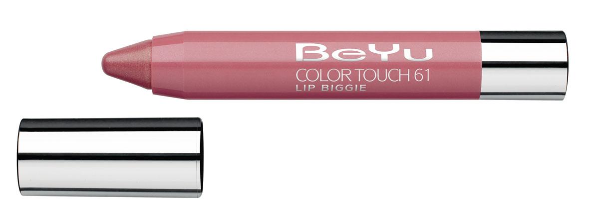 BeYu Блеск-бальзам для губ Color Touch Lip Biggie, тон №61, 2.8 г331.61Блеск-бальзам для губ Color Touch Lip Biggie сочетает в себе помаду, блеск и бальзам для губ, который бережно ухаживает за кожей губ, придавая им нежное сияние. Блеск-бальзам для губ имеет выкручивающийся механизм.