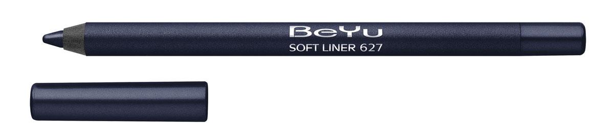 BeYu Карандаш для глаз Soft Liner, универсальный, тон №627, 1,2 г34.627Мягкая текстура карандаша Soft Liner легко и приятно наносится на нежную кожу век. Уникальный состав на основе масел. Абсолютно гипоаллергенен. Благодаря стойкой формуле карандаш фиксируется уже через минуту и становится водостойким. При этом он легко растушевывается, оставляя на веках насыщенный ровный цвет. Огромная цветовая палитра дает простор для творчества, а удобная пластиковая упаковка защищает грифель от сколов. Этот стойкий карандаш для дневного и вечернего макияжа - абсолютный must-have каждой косметички! Товар сертифицирован.