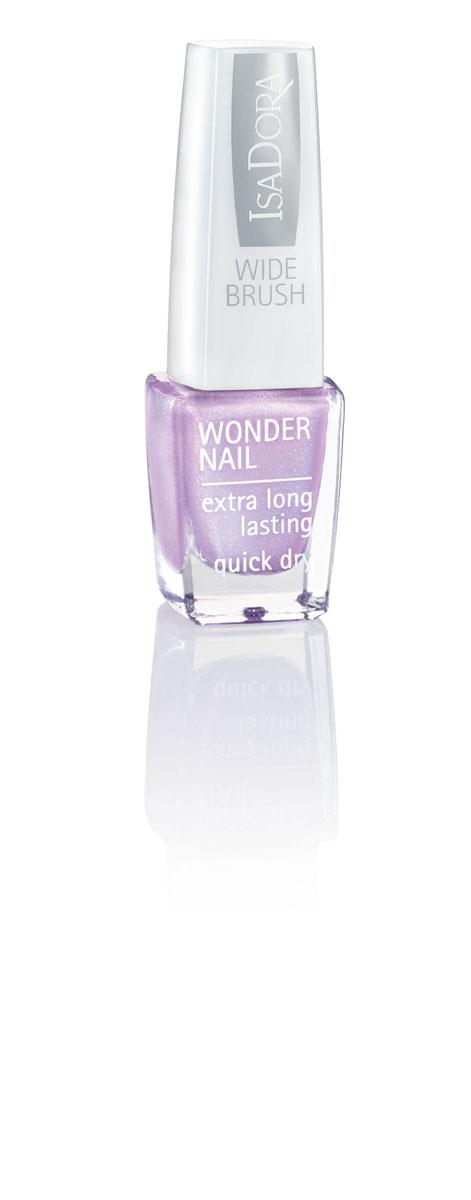 Isa Dora Лак для ногтей Wonder Nail, тон 730 Icy Lilacs, 6мл