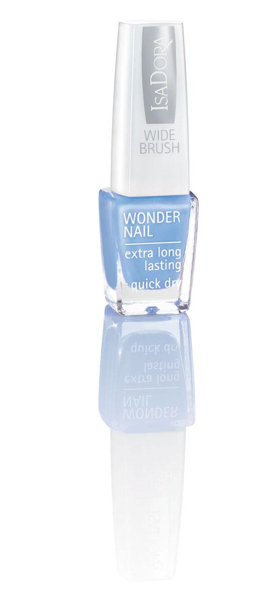 Isa Dora Лак для ногтей Wonder Nail, тон 757 Scuba Blue, 6мл220757Стойкий и быстро сохнущий лак для ногтей Isa Dora Wonder Nail с широкой кисточкой, покрывающей ногти всего за один штрих. Долго сохраняет свой блеск. Кисточка имеет особую форму, так как каждый ее волосок индивидуально подстрижен, что позволяет избежать полосок при нанесении лака. Товар сертифицирован.