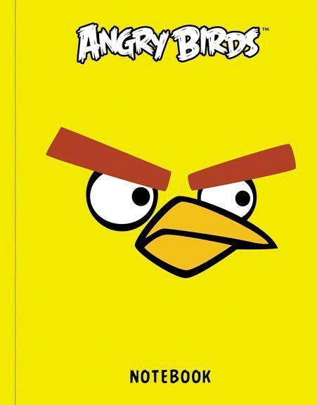 Бизнес-блокнот 80л А6ф клетка тв.переплет-ANGRY BIRDS-80ББ6B1_10356Бизнес-блокнот в твердом переплёте. Листаж - 80 листов А6 формата. Клетка. Тип разметки: В клетку; тип бумаги: Шелковисто-матовая; формат: А6; обложка: Книжная; пол: унисекс; упаковка: Коробка картонная