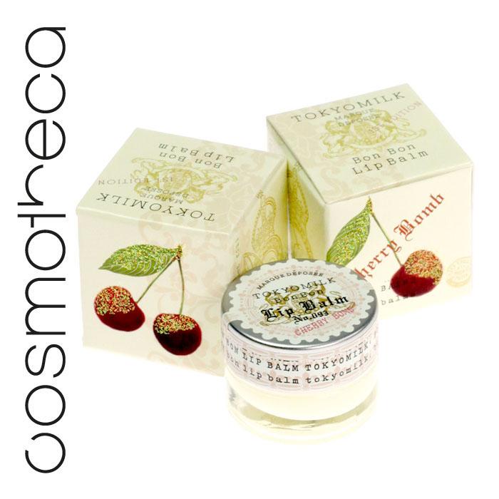 Tokyo Milk Бальзам для губ Вишневая бомба 6,2 грTKM16L8Нежный бальзам для губ обладает восхитительным и соблазнительным ароматом, а также увлажняте и питает мягккую кожу губ. Активные ингредиенты: масло подсолнечника, витамин Е, алоэ, масло ши.