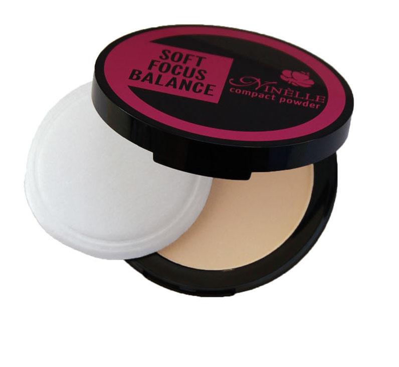 Ninelle Компактная пудра Soft Focus Balance, тон №11, 9 г851N10560Профессиональный эффект макияж без макияжа, растушевывает оптические неровности и недостатки кожи. Все оттенки пудры матовые. Товар сертифицирован.
