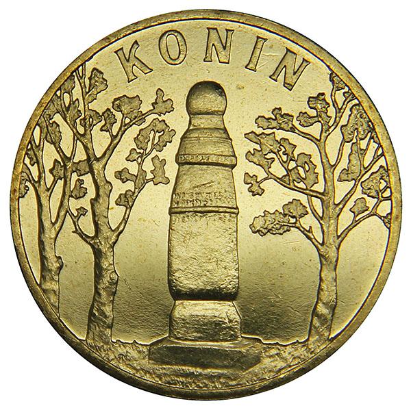 ������ ��������� 2 ������ Historyczne Miasta w Polsce - Konin. ����, ��������, ����, �����. ������, 2008 ���L2070 E������ ��������� 2 ������ Historyczne Miasta w Polsce - Konin. ����, ��������, ����, �����. ������, 2008 ���. ��������: ������ ���� - ����� CuAlZnSn. �������: 27 ��. ���������: �����, �� ������ � ��������� (UNC).