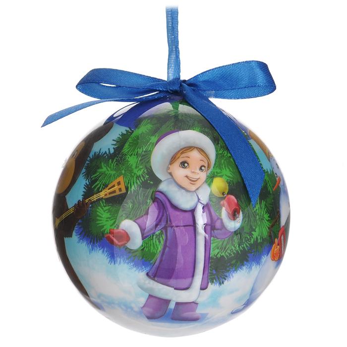 Набор новогодних подвесных украшений Шар. Новогодний, диаметр 9 см, 16 шт020140Набор новогодних подвесных украшений Шар. Новогодний выполнен из ПВХ и декорирован текстильными бантами и новогодними изображениями. С помощью специальной петельки украшения можно повесить в любом понравившемся вам месте. Но, конечно, удачнее всего такие шары будут смотреться на праздничной елке. Елочная игрушка - символ Нового года. Она несет в себе волшебство и красоту праздника. Создайте в своем доме атмосферу веселья и радости, украшая новогоднюю елку нарядными игрушками, которые будут из года в год накапливать теплоту воспоминаний.