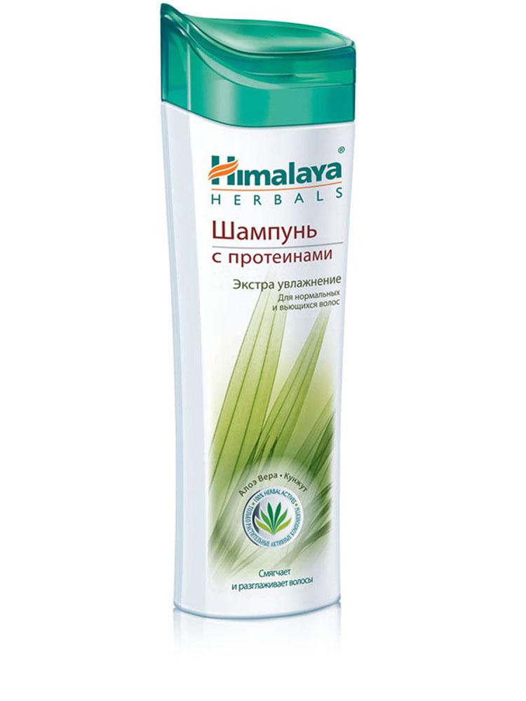 """Himalaya Herbals Шампунь для волос """"Экстра Увлажнение"""", с протеинами, для нормальных и вьющихся волос, 200 мл"""