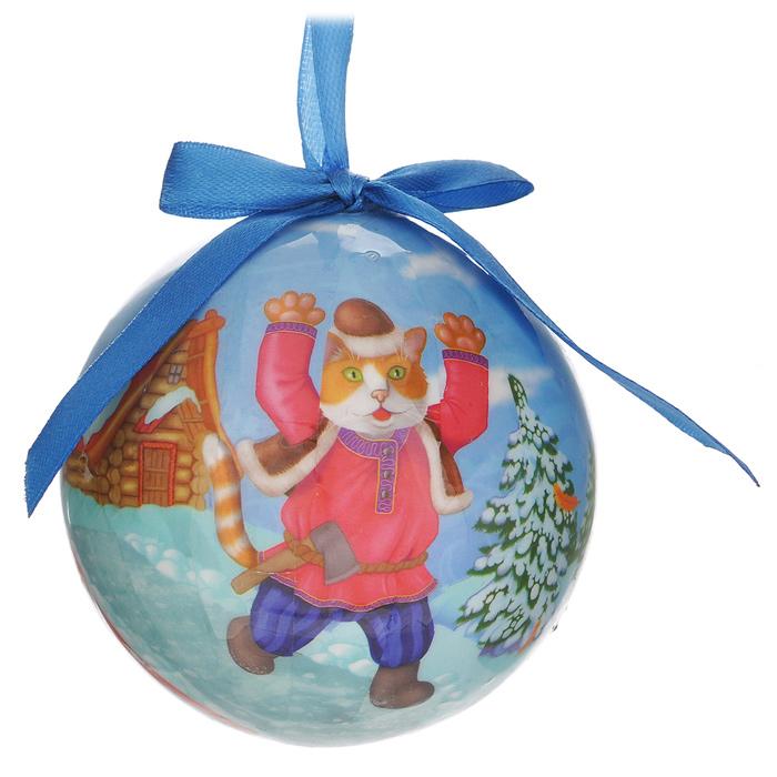 Набор новогодних подвесных украшений Шар. Сказки, диаметр 8,5 см, 24 шт020148Набор новогодних подвесных украшений Шар. Сказки выполнен из ПВХ и декорирован текстильными бантами и изображениями с мотивами из сказок. С помощью специальной петельки украшения можно повесить в любом понравившемся вам месте. Но, конечно, удачнее всего такие шары будут смотреться на праздничной елке. Елочная игрушка - символ Нового года. Она несет в себе волшебство и красоту праздника. Создайте в своем доме атмосферу веселья и радости, украшая новогоднюю елку нарядными игрушками, которые будут из года в год накапливать теплоту воспоминаний.