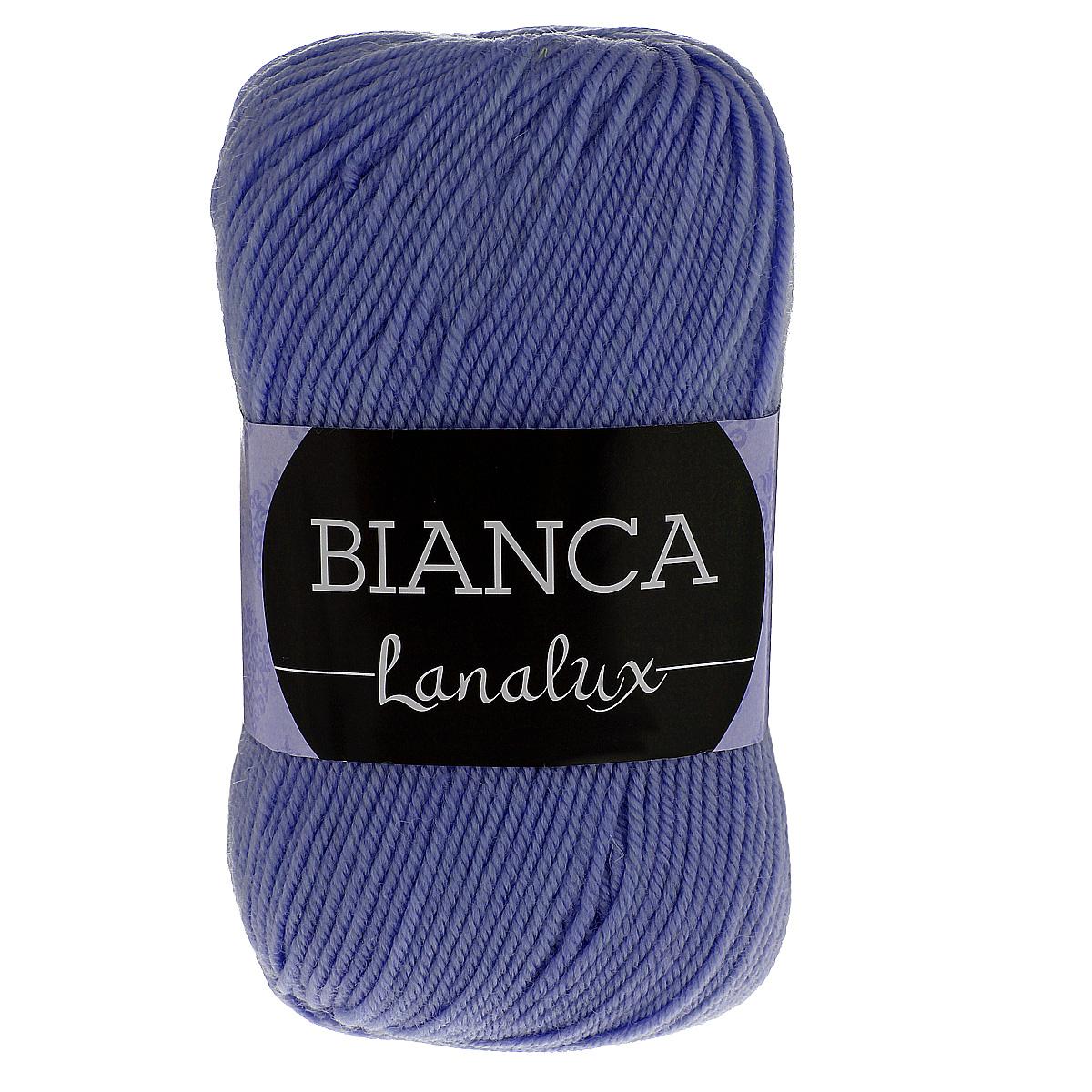 Пряжа для вязания YarnArt Bianca LanaLux, цвет: сирень (855), 250 м, 100 г, 5 шт372093_855Пряжа YarnArt Bianca LanaLux - это классическая чистошерстяная пряжа для вязания. Нить очень мягкая, приятная на ощупь, слегка шелковистая, упругая и не колется. Изделия из нее получаются теплыми и нежными, не теряют форму. Пряжа подходит для вязания платьев, кардиганов, жилетов и джемперов. Рекомендованные спицы и крючок для вязания 4 мм. Состав: 100% шерсть.
