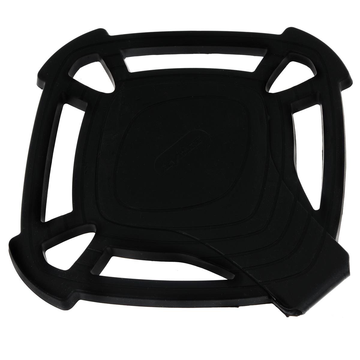 """Подставка под горячее """"Zyliss"""", цвет: черный, 19 см х 19 см"""