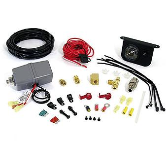 Комплект подключения ресивера BERKUT TG-56TG-56Технические характеристики: - Реле Вкл\Выкл: TG-56: 85\105 Psi (5,95\7,35 bar.); - Внутрисалонный манометр с подсветкой; - установочная фурнитура. Материал: металл, пластик; цвет: черный