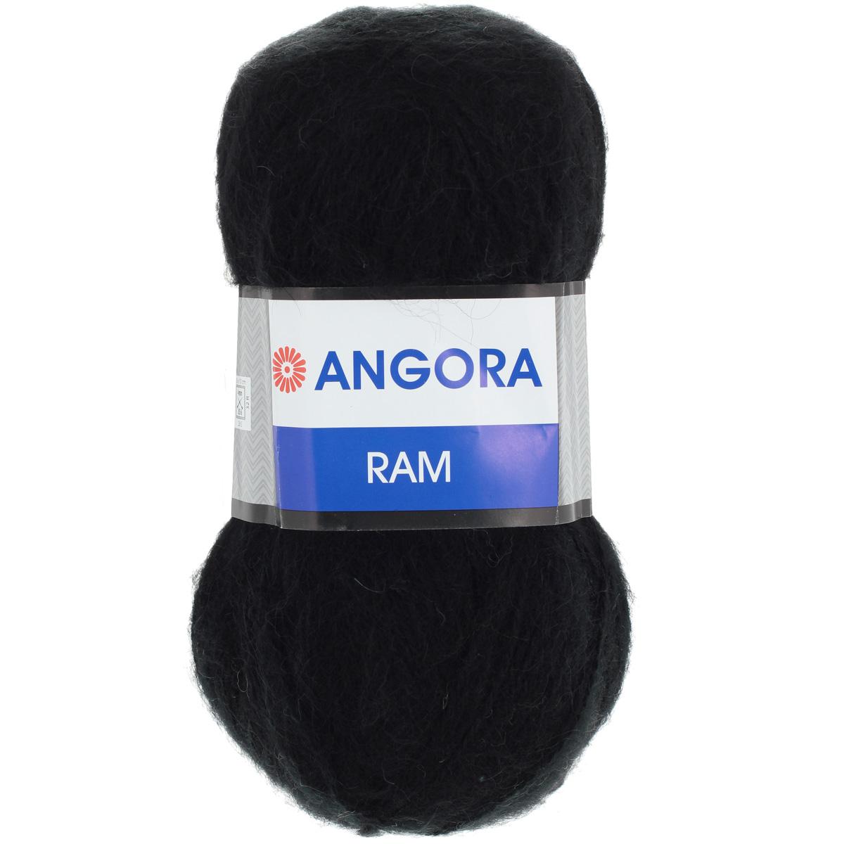 Пряжа для вязания YarnArt Angora Ram, цвет: черный (585), 500 м, 100 г, 5 шт372037_585Пряжа для вязания YarnArt Angora Ram изготовлена из натурального мохера с добавлением акрила. Пряжа из такого материала обладает повышенной прочностью и эластичностью, а изделия получаются теплые и уютные. Скрутка нити плотная, равномерная, не расслаивается, не путается, хорошо скользит по спицам, вяжется очень легко. Петли выглядят аккуратно, а натуральный мохер обеспечивает теплоту, легкость и превосходный внешний вид. Нить можно комбинировать с полушерстяными пряжами для смягчения рисунка, придания благородной пушистости фактуре нити, а также для улучшения тепловых характеристик. Благодаря содержанию синтетических волокон, изделия из YarnArt Angora Ram устойчивы к скатыванию, а благодаря своей мягкости такая пряжа подходит для детских вещей. Ажурные вещи сохраняют тепло не хуже плотного вязания, оставаясь легкими и объемными. Рекомендуемый размер спиц: №4. Примерный расход пряжи на джемпер: S - 400 г, M - 500 г, L - 600 г. Состав: 40%...