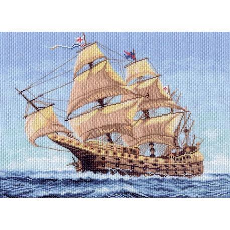 Канва с рисунком для вышивания Морской странник, 37 х 49 см 1148549863Канва с рисунком для вышивания Морской странник изготовлена из хлопка. Вышивка выполняется в технике полный крестик в 2-3 нити или полукрестом в 4 нити. Создайте свой личный шедевр - красивую вышитую картину. Работа, выполненная своими руками, станет отличным подарком для друзей и близких! УВАЖАЕМЫЕ КЛИЕНТЫ! Обращаем ваше внимание на тот факт, что цвет символа на ткани может отличаться от реального цвета нити мулине. Рекомендуемое количество цветов: 24.