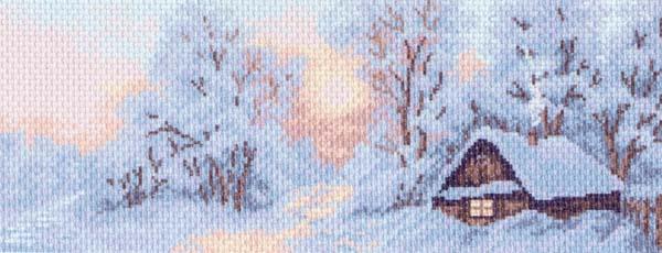 Канва с рисунком для вышивания Морозное утро, 24 х 47 см 426787_1202581765Канва с рисунком для вышивания Морозное утро изготовлена из хлопка. Вышивка выполняется в технике полный крестик в 2-3 нити или полукрестом в 4 нити. Создайте свой личный шедевр - красивую вышитую картину. Работа, выполненная своими руками, станет отличным подарком для друзей и близких! УВАЖАЕМЫЕ КЛИЕНТЫ! Обращаем ваше внимание, на тот факт, что цвет символа на ткани может отличаться от реального цвета нити мулине. Рекомендуемое количество цветов: 12.