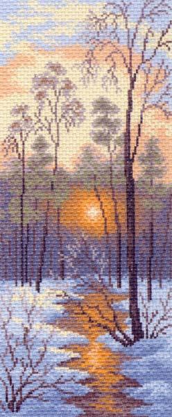 Канва с рисунком для вышивания Зимний закат, 24 х 47 см 426787_1204549805, 549805Канва с рисунком для вышивания Зимний закат изготовлена из хлопка. Вышивка выполняется в технике полный крестик в 2-3 нити или полукрестом в 4 нити. Создайте свой личный шедевр - красивую вышитую картину. Работа, выполненная своими руками, станет отличным подарком для друзей и близких! УВАЖАЕМЫЕ КЛИЕНТЫ! Обращаем ваше внимание, на тот факт, что цвет символа на ткани может отличаться от реального цвета нити мулине. Рекомендуемое количество цветов: 14.