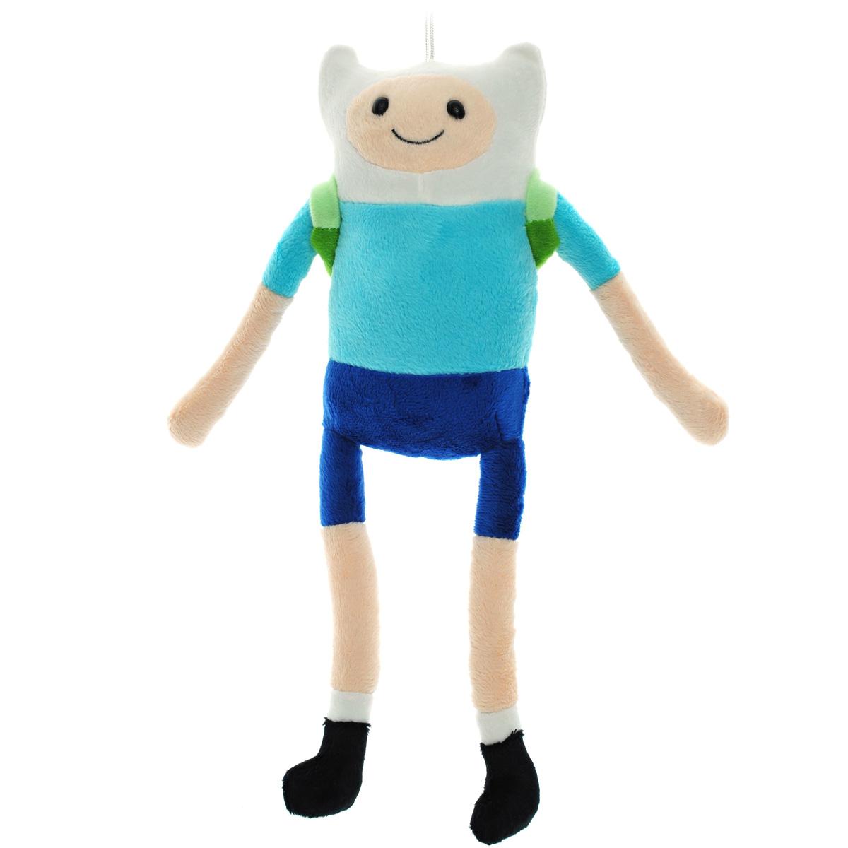 Мягкая игрушка Adventure Time Финн Парнишка, 30 смFATU0Очаровательная мягкая игрушка Adventure Time Финн вызовет умиление и улыбку у каждого, кто ее увидит. Игрушка выполнена в виде Финна - одного из главных персонажей в мультсериале Время приключений. У игрушки есть текстильный шнурок, с помощью которого ее можно повесить. За спиной у Финна салатово-зеленый рюкзак. Финн - мальчик, который обожает путешествовать со своим лучшим другом Джейком, а также спасать принцесс из лап ужасных злодеев, населяющих Землю УУУ. Финн является единственным известным человеком в Землях УУУ. Финн очень добрый. Удивительно мягкая игрушка принесет радость и подарит своему обладателю мгновения нежных объятий и приятных воспоминаний. Великолепное качество исполнения делают эту игрушку чудесным подарком к любому празднику.