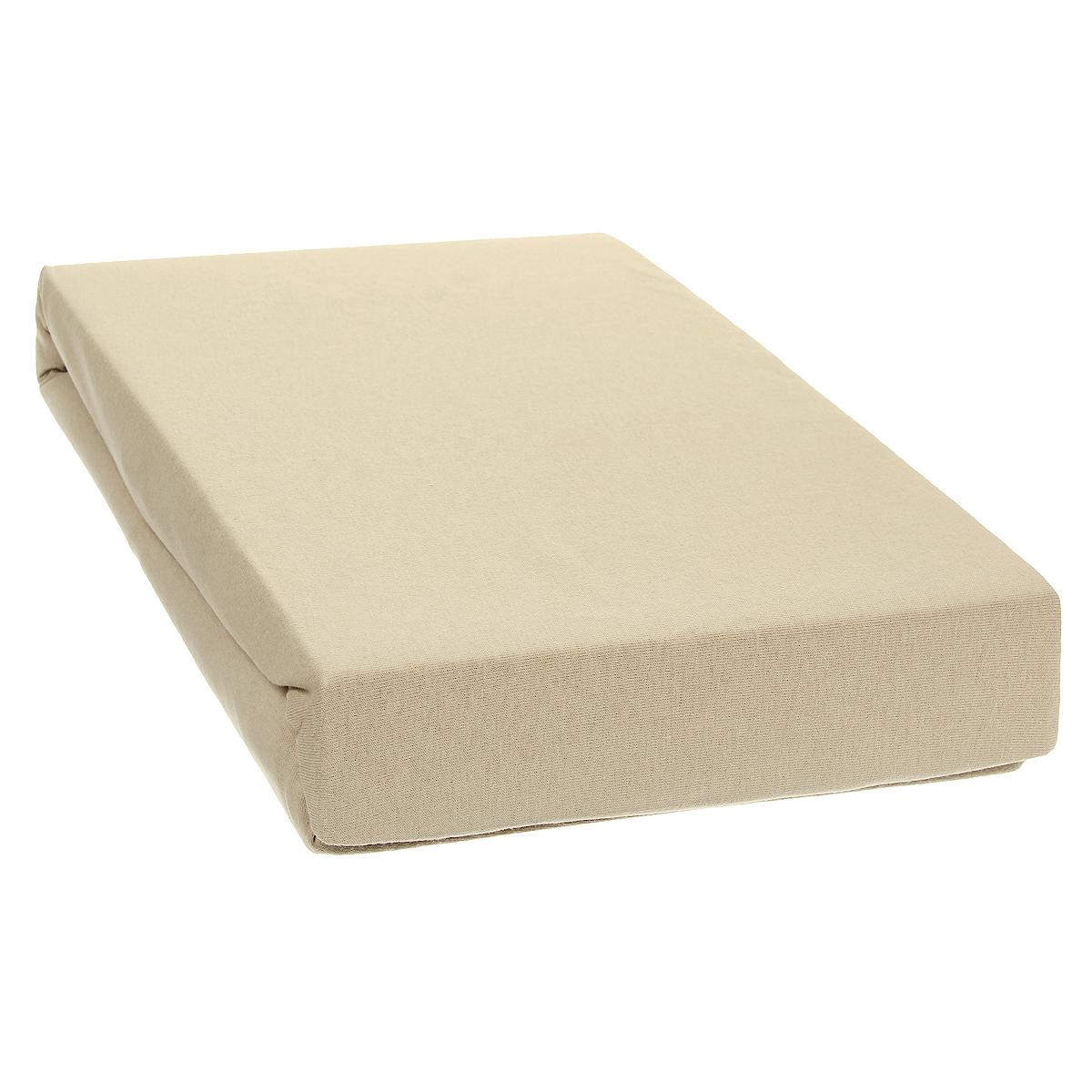 Простыня на резинке Tete-a-Tete, цвет: бежевый, 180 х 200 смТ-ПР-6018Однотонная простыня на резинке Tete-a-Tete выполнена из натурального хлопка. Высочайшее качество материала гарантирует безопасность не только взрослых, но и самых маленьких членов семьи. Простыня гармонично впишется в интерьер вашего дома и создаст атмосферу уюта и комфорта. Особенности коллекции Tete-a-Tete: - выдерживает более 100 стирок практически без изменения внешнего вида, - модные цвета и стойкие оттенки, - минимальная усадка, - надежные резинки и износостойкая ткань, - безупречное качество, - гиппоаллергенно. Коллекция Tete-a-Tete специально создана для практичных людей, которые ценят качество и долговечность вещей, окружают своих близких теплотой и заботой. Высота до 25 см.