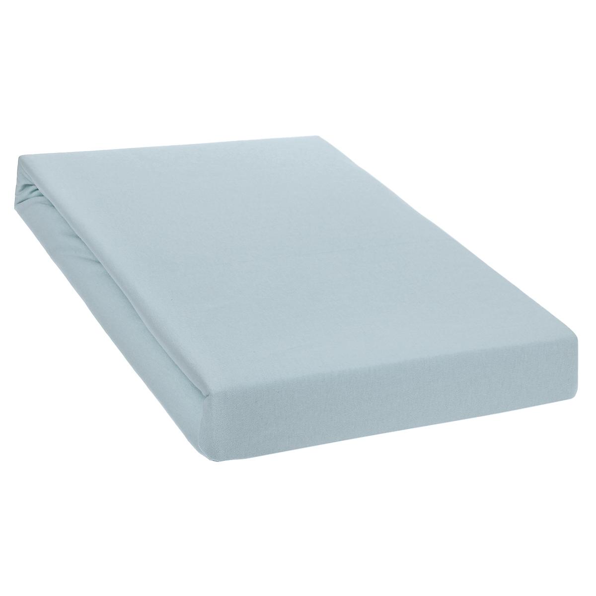 Простыня на резинке Tete-a-Tete, цвет: жемчуг, 160 см х 200 смТ-ПР-3041Однотонная трикотажная простыня на резинке Tete-a-Tete выполнена из натурального хлопка. Высочайшее качество материала гарантирует безопасность не только взрослых, но и самых маленьких членов семьи. Простыня гармонично впишется в интерьер вашего дома и создаст атмосферу уюта и комфорта. Особенности коллекции Tete-a-Tete: - выдерживает более 100 стирок практически без изменения внешнего вида, - модные цвета и стойкие оттенки, - минимальная усадка, - надежные резинки и износостойкая ткань, - безупречное качество, - гиппоаллергенно. Коллекция Tete-a-Tete специально создана для практичных людей, которые ценят качество и долговечность вещей, окружают своих близких теплотой и заботой.