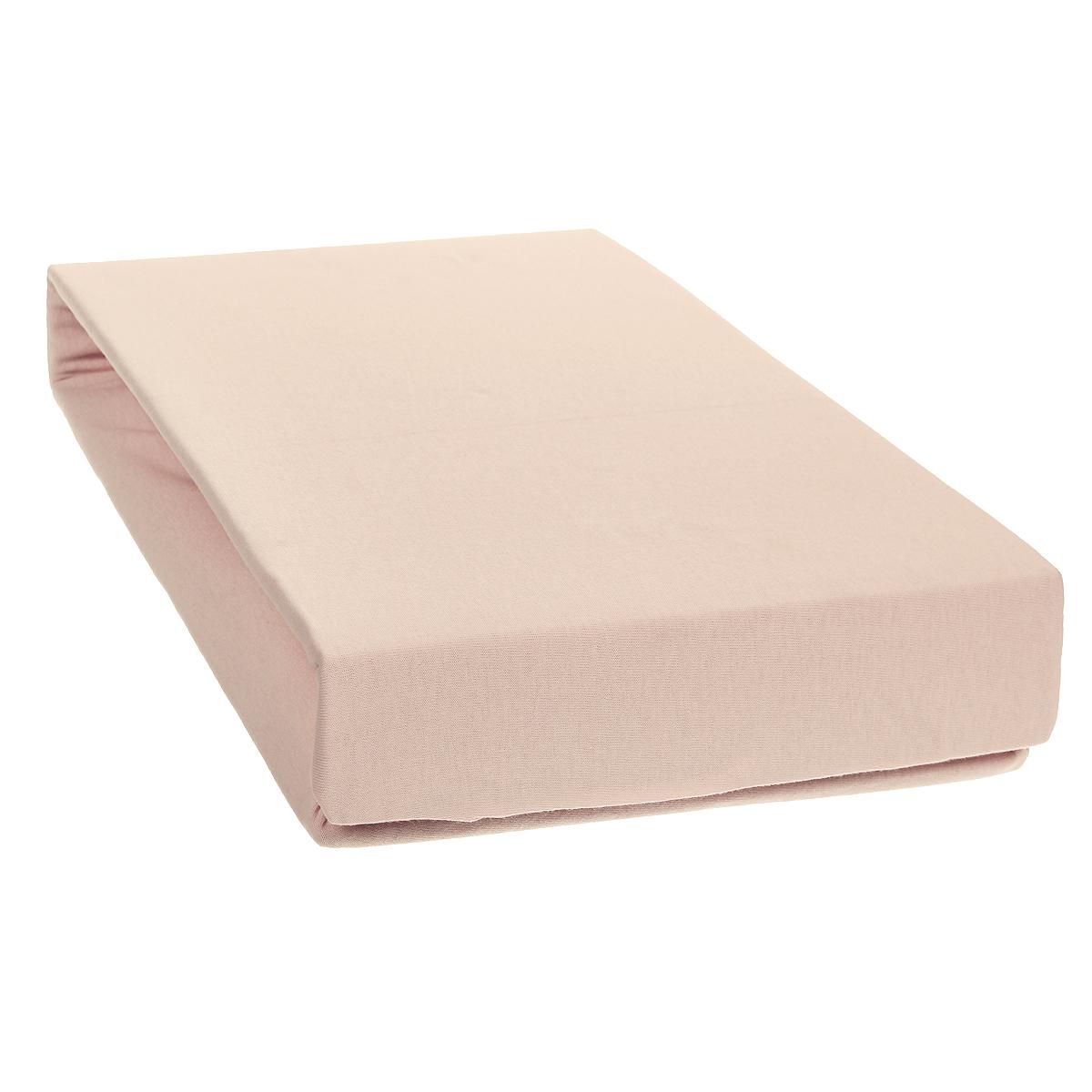 Простыня на резинке Tete-a-Tete, цвет: лотос, 160 см х 200 смТ-ПР-3009Однотонная трикотажная простыня на резинке Tete-a-Tete выполнена из натурального хлопка. Высочайшее качество материала гарантирует безопасность не только взрослых, но и самых маленьких членов семьи. Простыня гармонично впишется в интерьер вашего дома и создаст атмосферу уюта и комфорта. Особенности коллекции Tete-a-Tete: - выдерживает более 100 стирок практически без изменения внешнего вида, - модные цвета и стойкие оттенки, - минимальная усадка, - надежные резинки и износостойкая ткань, - безупречное качество, - гиппоаллергенно. Коллекция Tete-a-Tete специально создана для практичных людей, которые ценят качество и долговечность вещей, окружают своих близких теплотой и заботой.