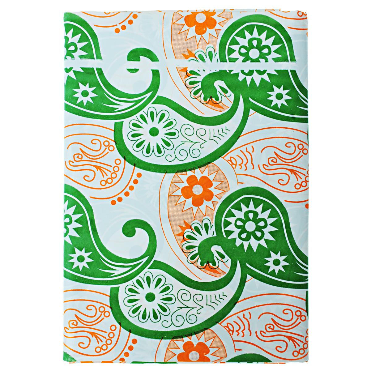 Скатерть Boyscout, прямоугольная, цвет: зеленый, оранжевый, 110 x 150 см61708Прямоугольная скатерть Boyscout выполнена из полиэстера высокого давления и декорирована красивыми узорами. Такая скатерть идеально подойдет для пикников и отдыха на природе.