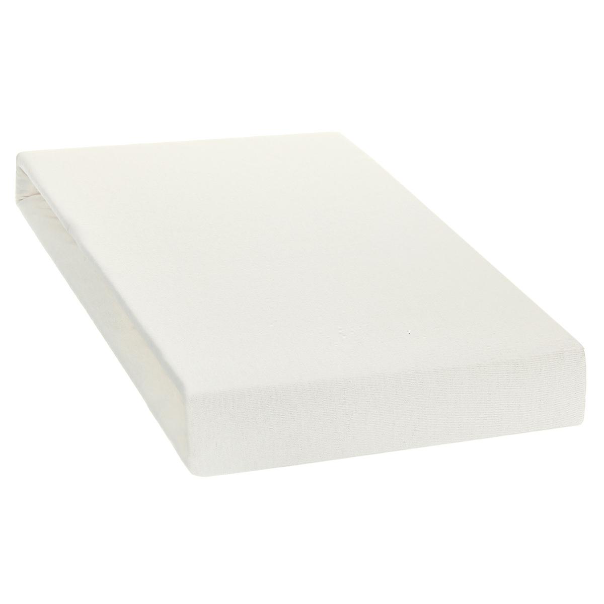 Простыня на резинке Tete-a-Tete, цвет: ваниль, 90 х 200 смТ-ПР-3080Однотонная простыня на резинке Tete-a-Tete выполнена из натурального хлопка. Высочайшее качество материала гарантирует безопасность не только взрослых, но и самых маленьких членов семьи. Простыня гармонично впишется в интерьер вашего дома и создаст атмосферу уюта и комфорта. Особенности коллекции Tete-a-Tete: - выдерживает более 100 стирок практически без изменения внешнего вида, - модные цвета и стойкие оттенки, - минимальная усадка, - надежные резинки и износостойкая ткань, - безупречное качество, - гиппоаллергенно. Коллекция Tete-a-Tete специально создана для практичных людей, которые ценят качество и долговечность вещей, окружают своих близких теплотой и заботой.
