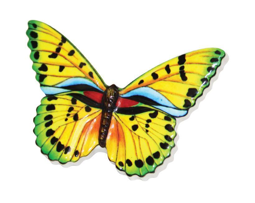 Ароматизатор Butterfly Green Apple. РН32073207Оригинальный ароматизатор нейтрализует посторонние запахи и наполняет воздух приятным свежим ароматом. Бабочка - это символ радости и любви. Ароматизатор выполнен из высококачественного пластика, идентичного керамике.