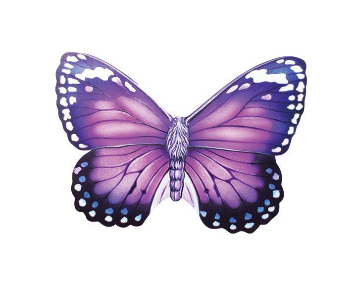 Ароматизатор Phantom Butterfly, с ароматом жасмина, цвет: фиолетовый3208Оригинальный ароматизатор нейтрализует посторонние запахи и наполняет воздух приятным свежим ароматом. Предназначен для ароматизации автомобиля, дома или офиса. Ароматизатор выполнен из высококачественного пластика, идентичного керамике, в форме бабочки. Аромат держится до 30 дней. Состав: пластик, ароматическая отдушка.